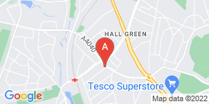 Google static map for The Co-operative Funeralcare Hall Green