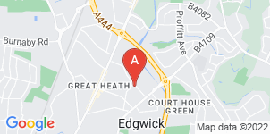 Google static map for Harmony Funeral Care, Coventry