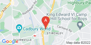 Google static map for The Co-operative Funeralcare Stirchley