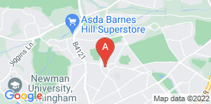 Google static map for The Co-operative Funeralcare Weoley Castle