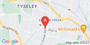 Google static map for The Co-operative Funeralcare Acocks Green