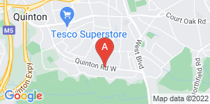 Google static map for The Co-operative Funeralcare Quinton