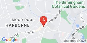 Google static map for The Co-operative Funeralcare Harborne