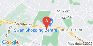 Google static map for William H Painter Funeral Directors, Yardley