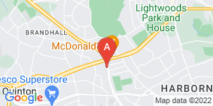 Google static map for A.B Taylor Funeral Services Ltd