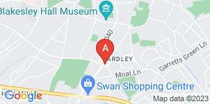 Google static map for C Bastock Funeral Directors Yardley Funeral Home