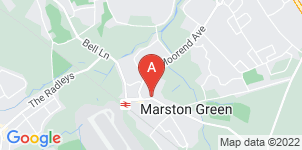 Google static map for Franklin & Hawkins Family Funeral Directors, Marston Green
