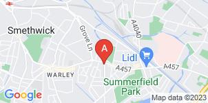 Google static map for W H Scott & Son Funeral Directors, Edgbaston