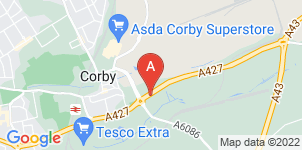 Google static map for A J Carter Funeral Services