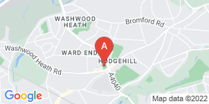 Google static map for The Co-operative Funeralcare, Ward End