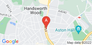 Google static map for Collyer & McBride, Handsworth