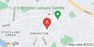 Google static map for A Hazel & Sons Funeral Directors, Erdington