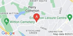 Google static map for The Co-operative Funeralcare Erdington
