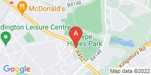 Google static map for The Co-operative Funeralcare Pype Hayes