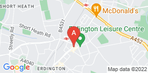 Google static map for High Street Funeral Directors