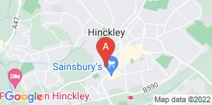 Google static map for McCartneys Funeral Service