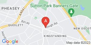 Google static map for Urwins Undertakers Ltd, Birmingham