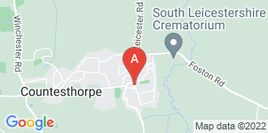 Google static map for Ginns & Gutteridge Funeral Directors, Countesthorpe