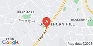 Google static map for Burgess & Harper Funeral Directors Wolverhampton