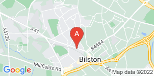 Google static map for F W Collins & Sons Funeral Directors, Bilston