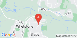 Google static map for The Co-operative Funeralcare Blaby