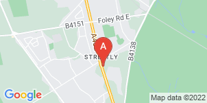 Google static map for A Hazel & Sons Funeral Directors, Chester Road