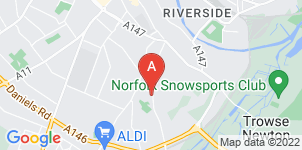 Google static map for Allcock Family Funeral Services