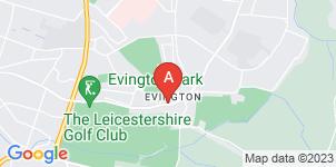 Google static map for Ginns & Gutteridge Funeral Directors, Evington
