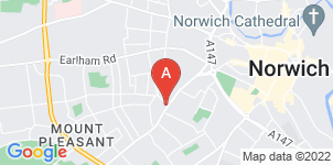 Google static map for G.W Gooch Funeral Service