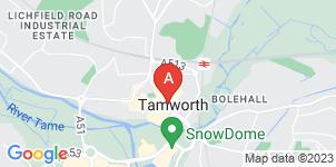 Google static map for F M & J Wait Funeral Directors, Tamworth