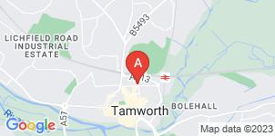 Google static map for M.G Evans & Sons Tamworth