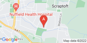 Google static map for The Co-operative Funeralcare Thurnby Lodge