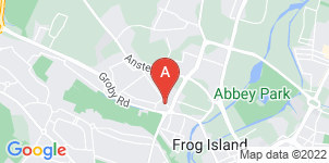 Google static map for Abbey Oak Funeral Services