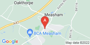Google static map for W. B. Bradford Funeral Service
