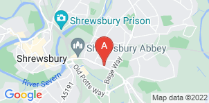 Google static map for Clive Pugh Funeral Directors