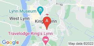 Google static map for Andrew Francis Funeral Service, King's Lynn