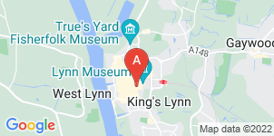 Google static map for A.J Coggles, King's Lynn