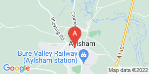 Google static map for Ivan Fisher Independent Funeral Homes Ltd, Aylsham