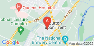 Google static map for Murray's Independent Funeral Directors Burton-on-Trent