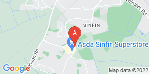 Google static map for The Co-operative Funeralcare Sinfin