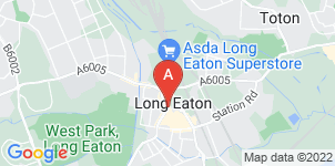 Google static map for Ginns & Gutteridge Funeral Directors, Long Eaton