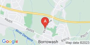 Google static map for The Co-operative Funeralcare Borrowash
