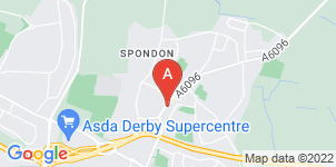 Google static map for The Co-operative Funeralcare Spondon