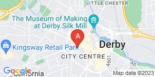 Google static map for A.W. Lymn Derby