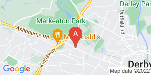 Google static map for S W Davidson Funeral Directors