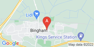 Google static map for A.W. Lymn Bingham