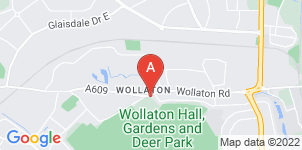 Google static map for A.W. Lymn Wollaton