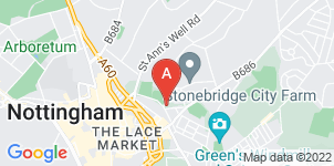 Google static map for A.W. Lymn Nottingham