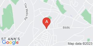Google static map for Ken Gregory & Sons Funeral Directors, Nottingham