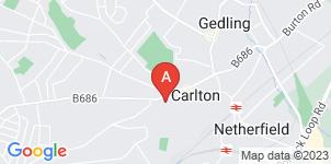 Google static map for A.W. Lymn Carlton